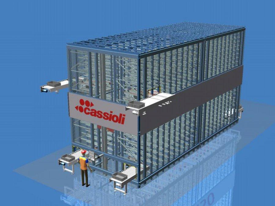 Sistema Cartesio - magazzino automatico Cartesio
