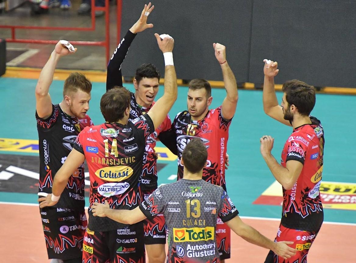 Cassioli sponsor SIR Safety Volley Perugia 2018