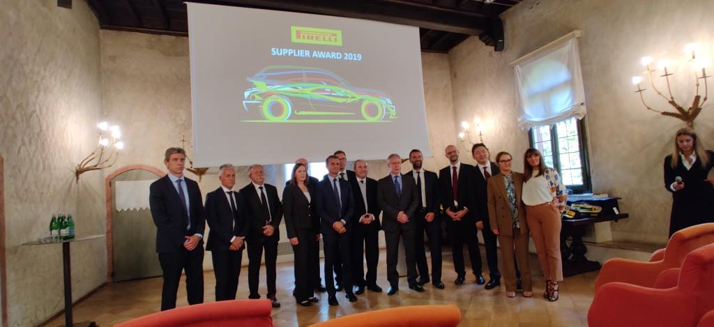 Cassioli winner Pirelli Supplier Awards 2019