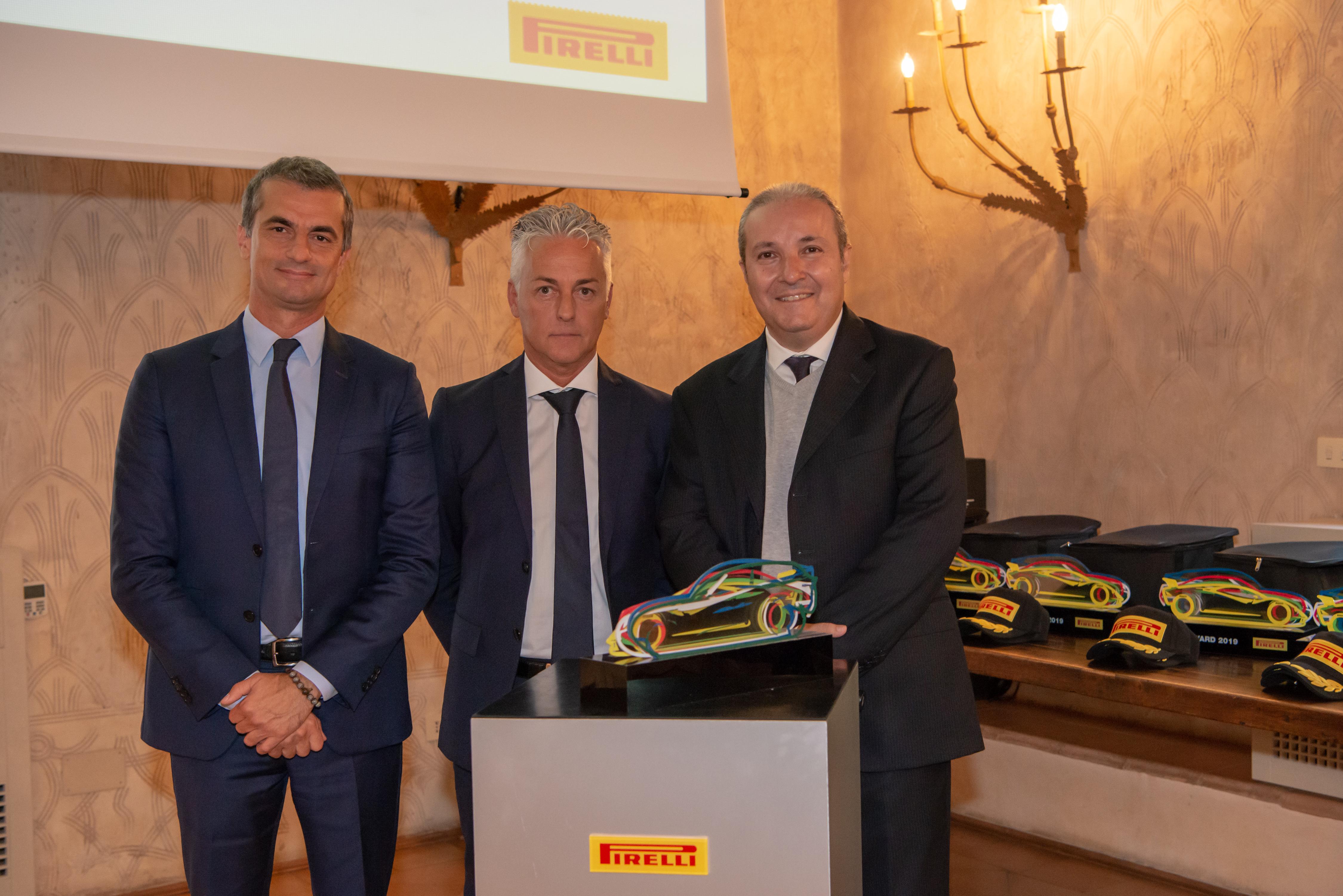 Pirelli supplier Award 2019- Cassioli- Carlo Cassioli